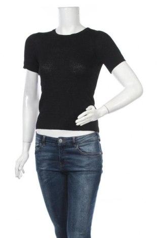 Γυναικείο πουλόβερ Zara Knitwear, Μέγεθος S, Χρώμα Μαύρο, 64% βισκόζη, 36% πολυαμίδη, Τιμή 18,95€