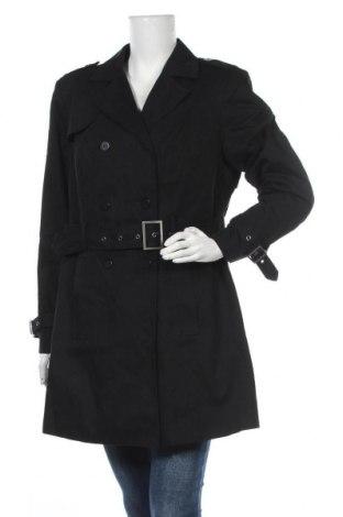 Дамски шлифер Aniston, Размер XL, Цвят Черен, Памук, Цена 86,87лв.