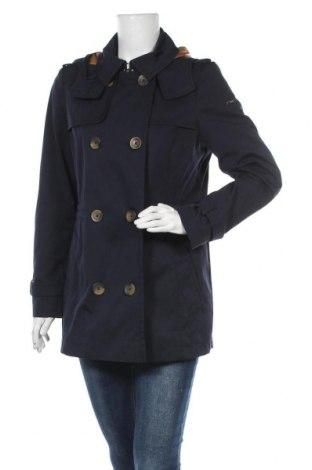 Дамски шлифер Esprit, Размер L, Цвят Син, 63% памук, 37% полиестер, Цена 79,50лв.