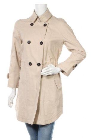 Дамски шлифер Mango, Размер M, Цвят Бежов, 98% памук, 2% еластан, Цена 42,48лв.