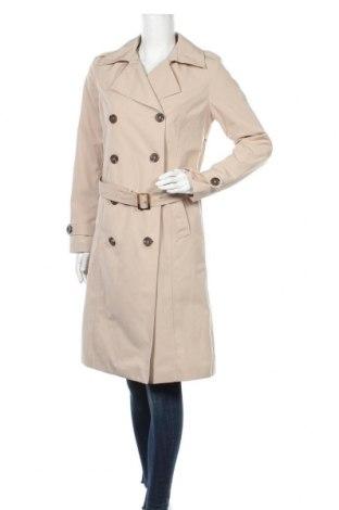 Дамски шлифер Tamaris, Размер S, Цвят Бежов, 86% полиестер, 14% памук, Цена 69,36лв.