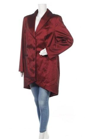 Γυναικεία καμπαρντίνα Ulla Popken, Μέγεθος XXL, Χρώμα Κόκκινο, 55% πολυεστέρας, 38% πολυαμίδη, 7% ελαστάνη, Τιμή 22,27€
