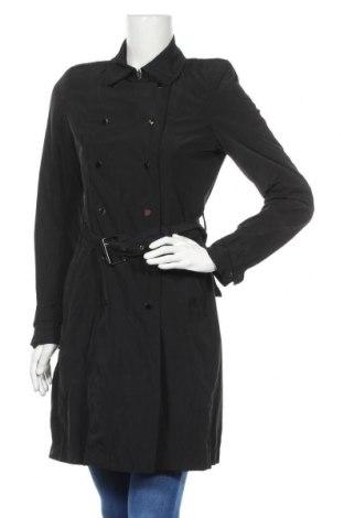 Дамски шлифер Zara, Размер S, Цвят Черен, 70% полиестер, 30% памук, Цена 45,75лв.