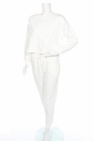 Дамски спортен комплект Anna Field, Размер S, Цвят Бял, Памук, Цена 40,02лв.