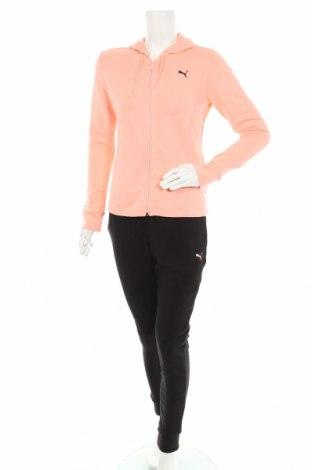 Дамски спортен комплект PUMA, Размер M, Цвят Розов, 100% памук, Цена 119,25лв.