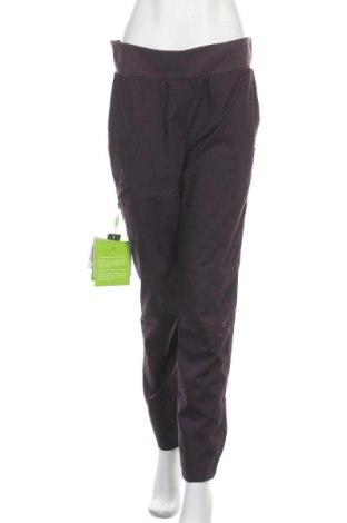 Дамски спортен панталон Ock, Размер M, Цвят Лилав, 63% полиестер, 34% памук, 3% еластан, Цена 47,40лв.