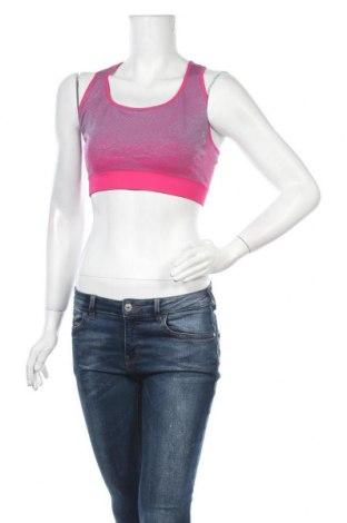 Γυναίκειο αθλητικό τοπ TCM, Μέγεθος XL, Χρώμα Ρόζ , 49% πολυεστέρας, 46% πολυαμίδη, 5% ελαστάνη, Τιμή 9,38€