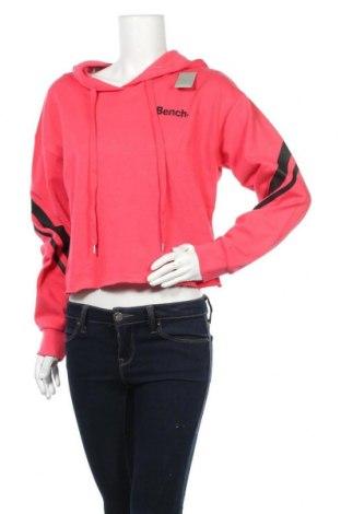 Γυναικείο φούτερ Bench, Μέγεθος S, Χρώμα Ρόζ , 60% βαμβάκι, 40% πολυεστέρας, Τιμή 22,94€