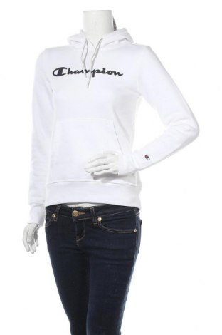 Дамски суичър Champion, Размер S, Цвят Бял, 79% памук, 21% полиестер, Цена 55,50лв.