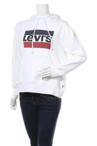 Γυναικείο φούτερ Levi's, Μέγεθος S, Χρώμα Λευκό, Βαμβάκι, Τιμή 38,27€