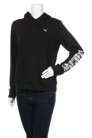 Γυναικείο φούτερ PUMA, Μέγεθος L, Χρώμα Μαύρο, 96% βαμβάκι, 4% ελαστάνη, Τιμή 28,07€