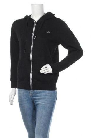 Γυναικείο φούτερ Tom Tailor, Μέγεθος M, Χρώμα Μαύρο, Βαμβάκι, Τιμή 28,61€