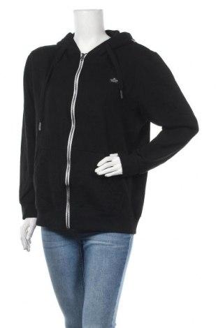 Γυναικείο φούτερ Tom Tailor, Μέγεθος XL, Χρώμα Μαύρο, Βαμβάκι, Τιμή 24,74€