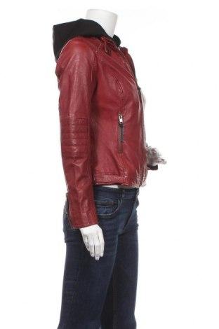 Дамско кожено яке Alpenblitz, Размер M, Цвят Червен, Естествена кожа, Цена 314,25лв.