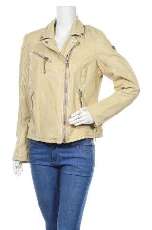 Дамско кожено яке Gipsy, Размер XL, Цвят Жълт, Естествена кожа, Цена 291,75лв.