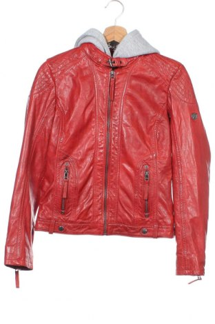 Γυναικείο δερμάτινο μπουφάν Gipsy, Μέγεθος XS, Χρώμα Κόκκινο, Γνήσιο δέρμα, Τιμή 138,79€