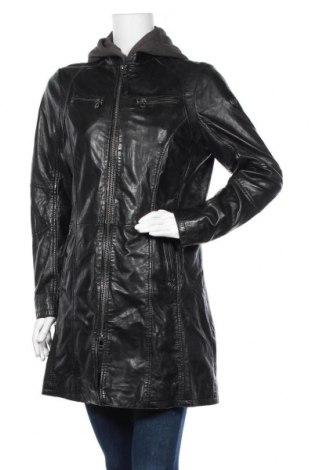 Γυναικείο δερμάτινο μπουφάν Gipsy, Μέγεθος XL, Χρώμα Μαύρο, Γνήσιο δέρμα, Τιμή 136,35€