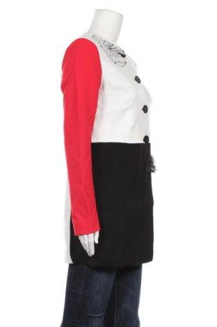 Дамско палто Desigual, Размер M, Цвят Многоцветен, Полиестер, Цена 102,77лв.
