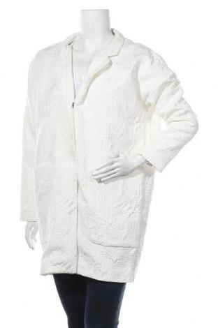 Дамско палто Modstrom, Размер M, Цвят Бял, 90% полиестер, 9% памук, 1% еластан, Цена 130,67лв.