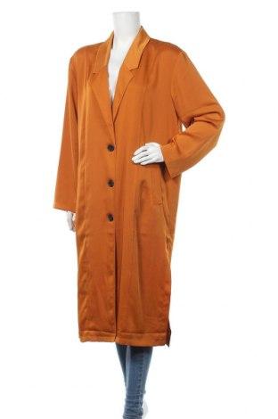 Дамско палто Native Youth, Размер L, Цвят Жълт, Полиестер, Цена 43,89лв.