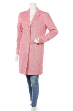Γυναικείο παλτό Opus, Μέγεθος L, Χρώμα Ρόζ , 82% βαμβάκι, 15% πολυεστέρας, 3% ελαστάνη, Τιμή 65,47€