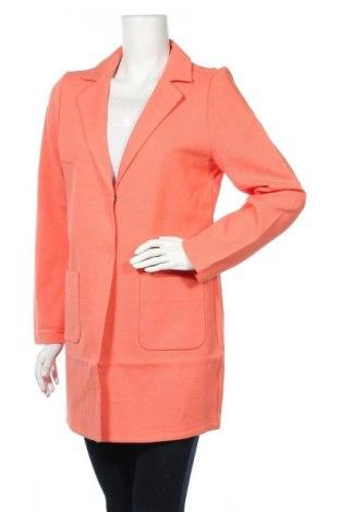 Дамско палто Opus, Размер M, Цвят Оранжев, 74% памук, 26% полиестер, Цена 116,07лв.