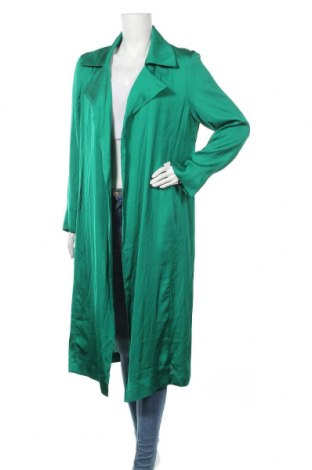 Дамско палто Riani, Размер M, Цвят Зелен, Вискоза, Цена 218,27лв.