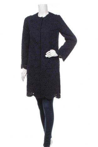Дамско палто Tara Jarmon, Размер M, Цвят Син, Цена 71,28лв.