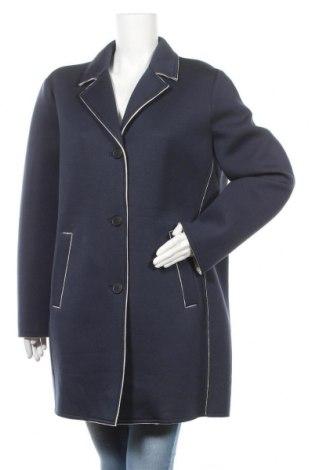 Дамско палто Tom Tailor, Размер XXL, Цвят Син, 97% вискоза, 3% еластан, Цена 81,75лв.