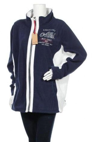 Γυναικεία ζακέτα fleece Kangaroos, Μέγεθος XXL, Χρώμα Μπλέ, Πολυεστέρας, Τιμή 18,85€