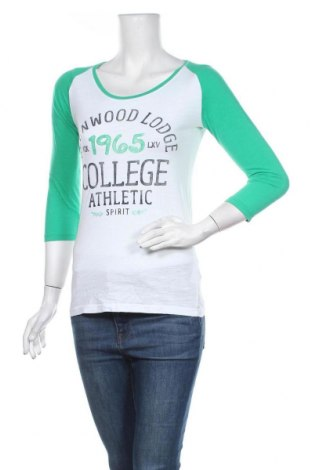 Дамска блуза Colours Of The World, Размер S, Цвят Бял, Памук, Цена 13,97лв.