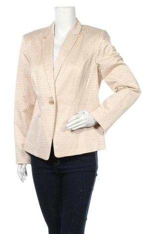 Дамско сако Betty & Co, Размер XL, Цвят Бежов, 55% памук, 41% полиестер, 4% еластан, Цена 23,52лв.
