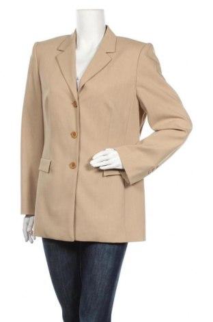 Γυναικείο σακάκι Betty Barclay, Μέγεθος XL, Χρώμα  Μπέζ, 54% πολυεστέρας, 44% μαλλί, 2% ελαστάνη, Τιμή 18,70€