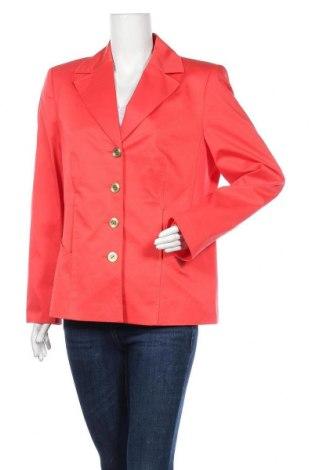 Γυναικείο σακάκι Betty Barclay, Μέγεθος XL, Χρώμα Ρόζ , 60% βαμβάκι, 30% πολυαμίδη, 10% ελαστάνη, Τιμή 25,92€