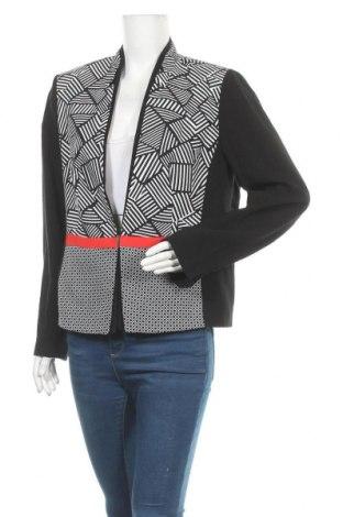Γυναικείο σακάκι Bianca, Μέγεθος L, Χρώμα Μαύρο, 81% βισκόζη, 19% πολυαμίδη, Τιμή 22,08€