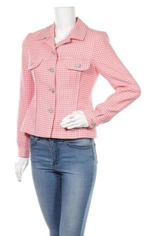 Γυναικείο σακάκι Blumarine, Μέγεθος S, Χρώμα Ρόζ , Μαλλί, Τιμή 176,91€