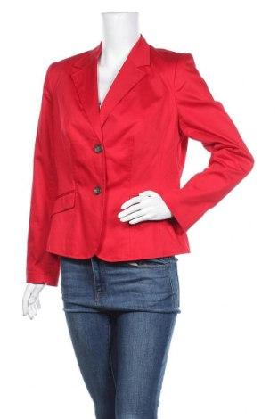 Γυναικείο σακάκι Charles Vogele, Μέγεθος L, Χρώμα Κόκκινο, 98% βαμβάκι, 2% ελαστάνη, Τιμή 15,79€