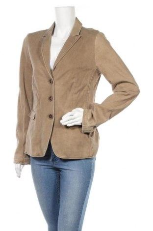 Γυναικείο σακάκι Cinque, Μέγεθος L, Χρώμα  Μπέζ, 95% βαμβάκι, 5% ελαστάνη, Τιμή 28,50€