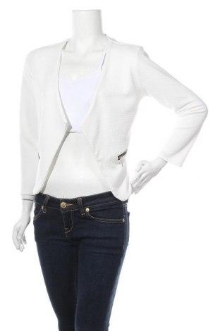 Γυναικείο σακάκι Colloseum, Μέγεθος S, Χρώμα Λευκό, 95% πολυεστέρας, 5% ελαστάνη, Τιμή 16,66€