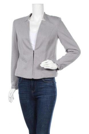 Γυναικείο σακάκι Comma,, Μέγεθος M, Χρώμα Γκρί, 96% πολυαμίδη, 4% ελαστάνη, Τιμή 23,45€
