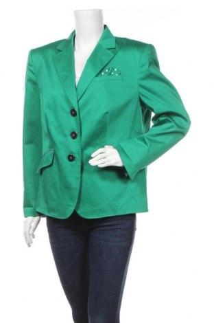 Γυναικείο σακάκι Gerry Weber, Μέγεθος L, Χρώμα Πράσινο, Τιμή 22,83€