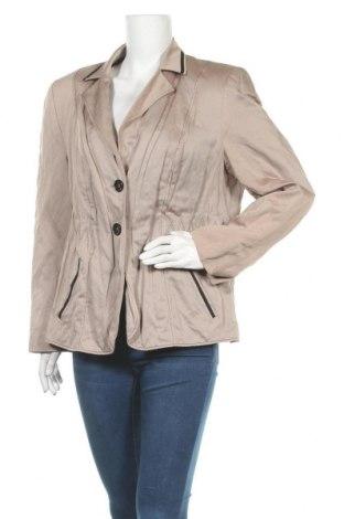 Γυναικείο σακάκι Gerry Weber, Μέγεθος XL, Χρώμα  Μπέζ, Τιμή 20,36€