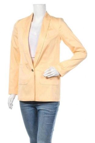 Γυναικείο σακάκι Lascana, Μέγεθος XS, Χρώμα Πορτοκαλί, 97% βαμβάκι, 3% ελαστάνη, Τιμή 32,48€