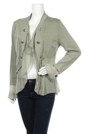 Γυναικείο σακάκι Made In Italy, Μέγεθος M, Χρώμα Πράσινο, Βαμβάκι, Τιμή 13,45€