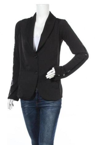 Дамско сако Miss Goodlife, Размер L, Цвят Черен, 95% полиестер, 5% еластан, Цена 24,19лв.
