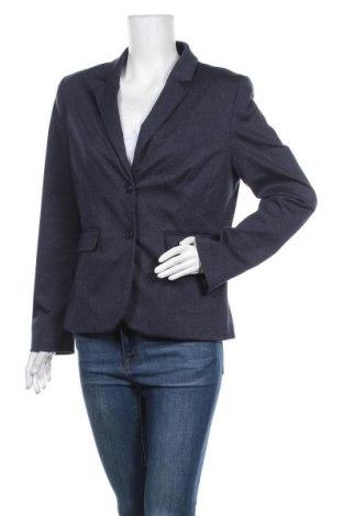 Γυναικείο σακάκι More & More, Μέγεθος L, Χρώμα Μπλέ, 70% πολυεστέρας, 27% βισκόζη, 3% ελαστάνη, Τιμή 22,08€