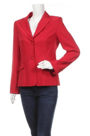 Γυναικείο σακάκι More & More, Μέγεθος L, Χρώμα Κόκκινο, 95% πολυεστέρας, 5% ελαστάνη, Τιμή 14,81€