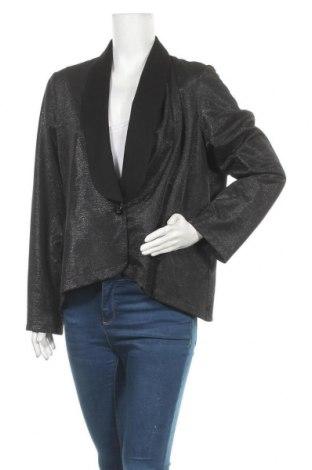 Γυναικείο σακάκι Next, Μέγεθος XXL, Χρώμα Μαύρο, 74% πολυεστέρας, 23% βισκόζη, 3% ελαστάνη, Τιμή 20,13€