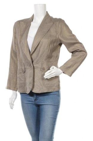 Дамско сако Penny Black, Размер L, Цвят Зелен, Лен, Цена 33,51лв.