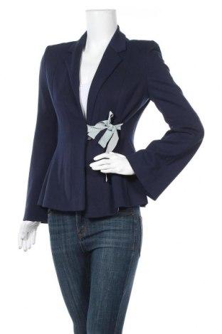 Γυναικείο σακάκι Rene Lezard, Μέγεθος S, Χρώμα Μπλέ, 71% βισκόζη, 25% πολυαμίδη, 4% ελαστάνη, Τιμή 67,36€